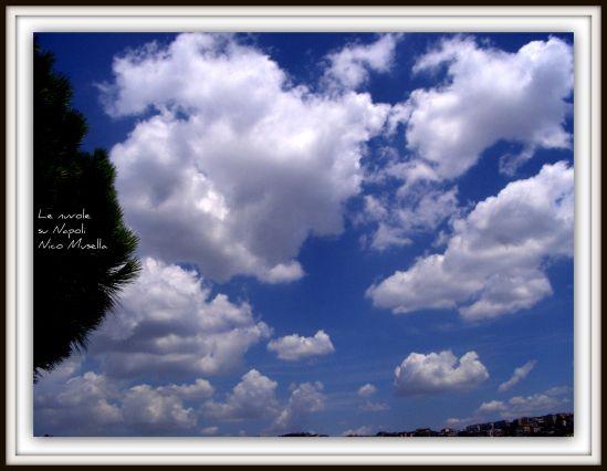Le nuvole su Napoli viste da Nico Musella