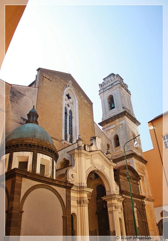 particolare della chiesa di san domenico maggiore